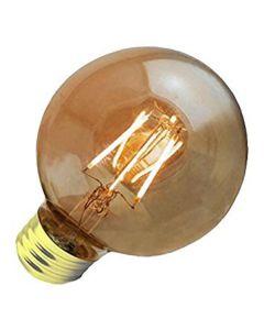 57894 4.5FG25DIM-824-A LED 4.5W G25 2400K 120V Amber 380 Lumens