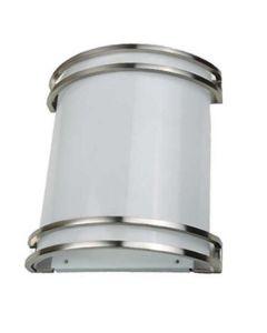 NaturaLED LED-FXDAL23-12FR-830-IN 23W 3000K 120V Nickel Sconce 1600 Lumens